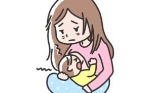 子育てに疲れるママ