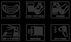 衛生管理のイラスト