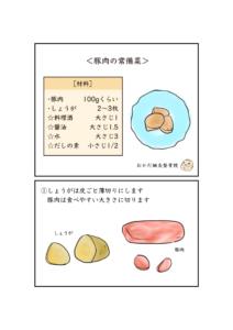 豚肉常備菜